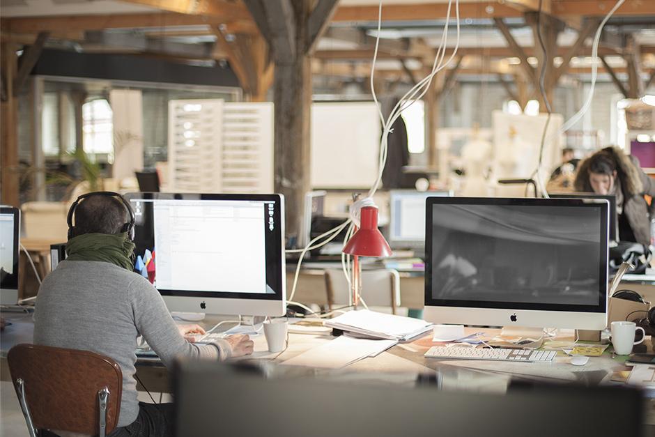 Super Le lieu : Bureaux éco-conçus, Espace de travail collaboratif  RL03