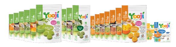 Yooji, aliments Bio pour bébé