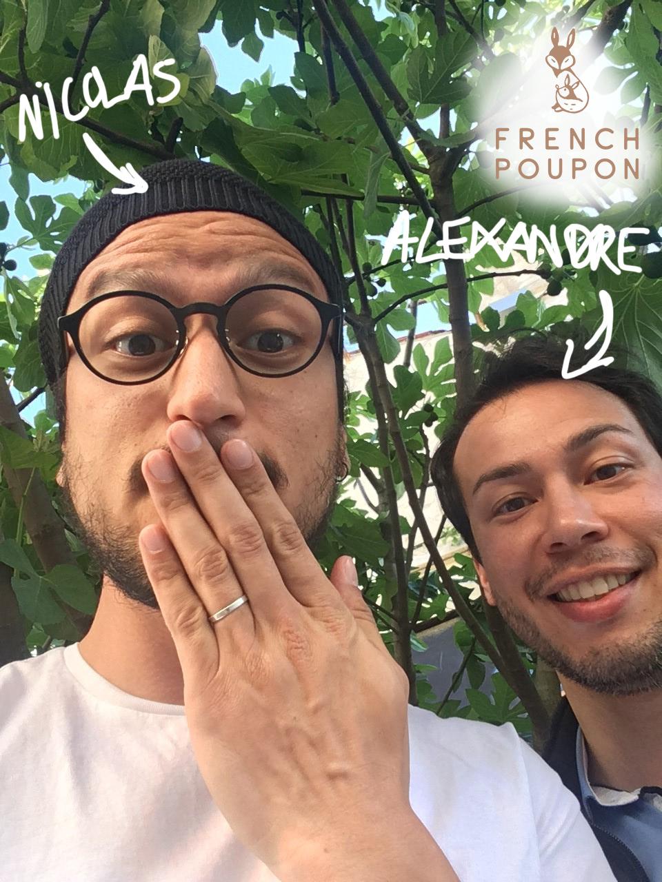 EN TANDEM #2 : Alexandre & Nicolas de French Poupon