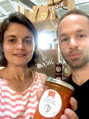 Selfie pauline frak superproducteur