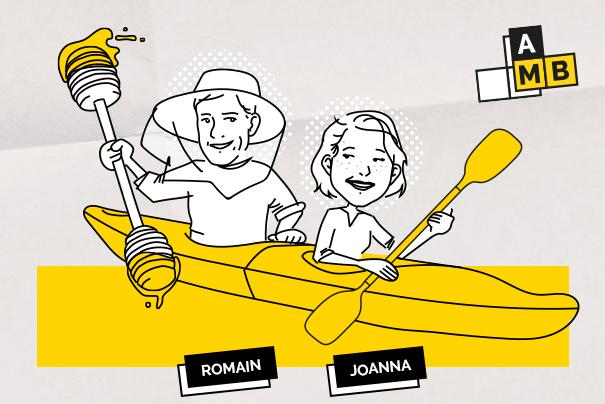 Adopte Ma Boîte #2 : Joanna et Romain, quand ton associé partage aussi ta vie.